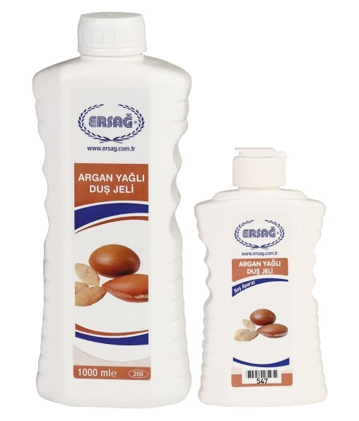 Shower Gel with Argan Oil 1000 ML with add. bottle