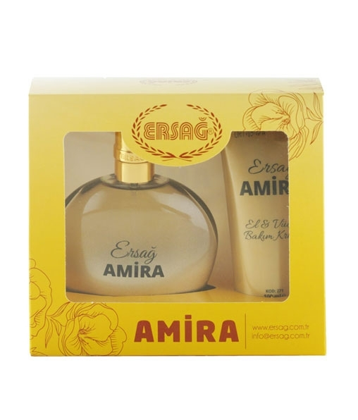 Amira binary set (perfume with hand & body care cream)
